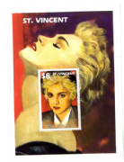 ST. VINCENT -  MINISHEET STAMP